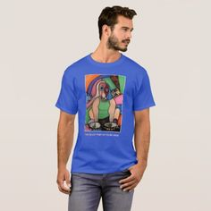 Too Much Time On Your Hands Royal Blue Time Pieces T-Shirt - diy cyo customize create your own personalize