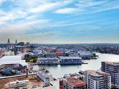 the view west Trafalgar Apartments Kent St Sydney #sold #c21city