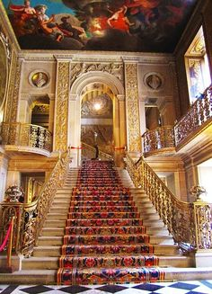 Grand Staircase, Chatsworth House, England