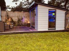Backyard Studio, Backyard Bar, Backyard Patio Designs, Patio Bar, Backyard Landscaping, Backyard Ideas, Backyard Pavilion, Patio Ideas, Garden Bar Shed