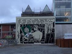 Christchurch street art! Earthquake damage has opened up open space for the street artist!