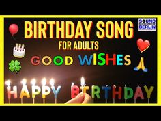Happy Birthday Song for adult - YouTube Happy Birthday Country, Happy 21st Birthday Wishes, Happy Birthday Song Download, Spiritual Birthday Wishes, Happy Birthday Song Youtube, Cute Happy Birthday Wishes, Animated Happy Birthday Wishes, Happy Birthday Music, Funny Happy Birthday Wishes