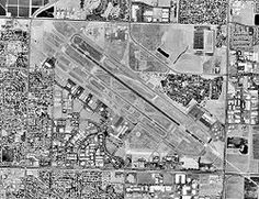 Fresno airport CA - 17 Aug 1998.jpg  I lived next to the runways in my grandparents old farmhouse. Lower left corner of the picture