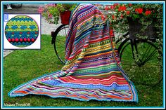 Ravelry: Project Gallery for Fantasy Blanket pattern by Ana Contreras