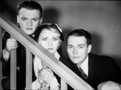 James Cagney, Edward Woods and Joan Blondell: The Public Enemy, 1931 Photographic Print