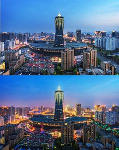 The magnificent nightview of Hangzhou city. #nightview #magnificent #splendid #awesome #Hangzhou #China #urban #urbanjungle #lights #sight #travel #ttot #backpacking