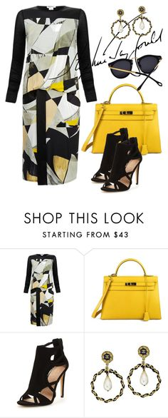 """""""fashion play"""" by omahtawon ❤ liked on Polyvore featuring Helmut Lang, Hermès and Chanel"""