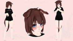 Puppy (New Mascot) by Lazy-Pup on DeviantArt 3d Model Character, Game Character, Model Test, Model Outfits, Anime Outfits, Character Description, Pose Reference, Animal Crossing, Anime Characters
