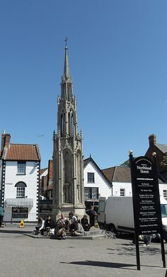 Glastonbury market place - my great-grandmother Jane Mathias was born here.