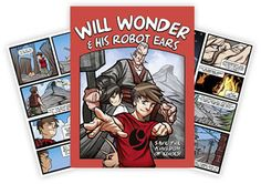 From Med El....a comic book series about a boy who has a cochlear implant.  Has questions for discussions also.