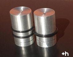 Salero Pimientero Aluminio