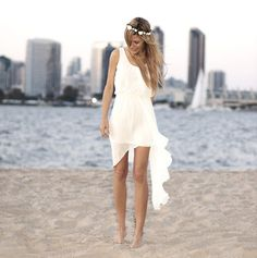 http://dyal.net/casual-beach-wedding-dresses Short Causal Beach Wedding Dress