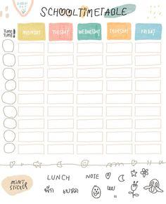 Pin by ・゚* 🎀 ɱყυɳɠʝυɳ'ʂ ϝʅσɯҽɾ 🎀 *゚・ on ー stickers ☽༓・*˚⁺‧͙ School Agenda, School Planner, Study Schedule, School Schedule, Daily Planner Pages, Study Planner, Planner Template, Printable Planner, Schedule Templates