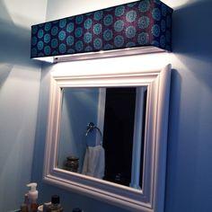 Bathroom Light Fixture Bulb Covers goodlooking custom lamp shades fabric light covers bathroom vanity