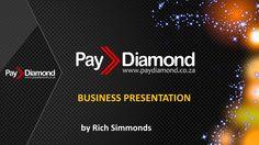 Pay Diamond English Business Presentation