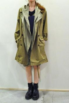 STEPHAN SCHNEIDER Layered Trench Coat
