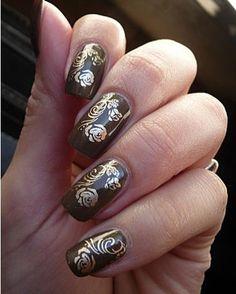nail art - stamping