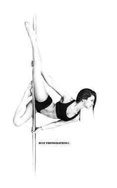 one leg lux pole trick dance - Google Search