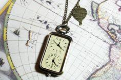 Zeitzonen-Uhr, super Geschenk für jemanden, der ans andere Ende der Welt geht #uhr