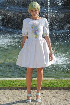 Chanel Resort 2013 Fashion Show - Georgia Fowler (IMG)
