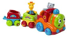 Early Learning Centre Toybox Musical Animal Train Baby Toy ** Click on the image for additional details. (This is an affiliate link)