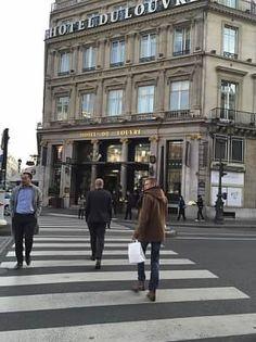 Hotel Du Louvre, Paris offers a beautiful #view overlooking the #Louvre. #travel #adventure #explore #trips #tips #destinations #places #vacations #paris #europe #france #hotels #getaway #getlost #traveltips #travelideas #travelstories #travelstory #travelexpert #traveljournal #travelstore