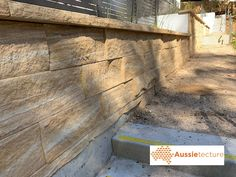 Aussietecture natural stone supplier has a unique range natural stone products for walling, flooring & landscaping. Sandstone Cladding, Wall Design, House Design, Stone Supplier, Brown Walls, Garden Edging, Wall Cladding, Natural Face, Landscape Architecture