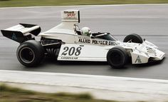 Lella Lombardi drives the Allied Polymer Group Brabham Ford BT42 during practice for the British Grand Prix on 19 July 1974 at the Brands Hatch...