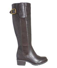 Cocoa San Francisco Extra Wide-Calf Boot by Intaglia #zulily #zulilyfinds