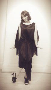 100 years of jazz in the UK festival feat the Puppini Sisters dress by the Two Sewing Sisters - flapper style dress 1920s Jazz, 1920s Flapper, Flapper Style Dresses, 1920s Dress, Puppini Sisters, Uk Festivals, Dress Codes, New Dress, Two By Two
