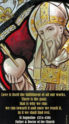 """""""Love is itself the fulfillment of all our works."""" - Quote/s of the Day on the Memorial of St. Elizabeth of Hungary - 17 Nov 2017 ~ AnaStpaul Catholic Books, Catholic Quotes, Catholic Saints, Roman Catholic, Holy Spirit Come, Augustine Of Hippo, Luke 11, Let Us Pray, Jesus Prayer"""