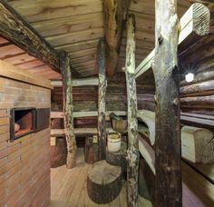 Sauna Ideas, Outdoor Sauna, Finnish Sauna, Firewood, Tub, Outdoor Living, Country, Architecture, House
