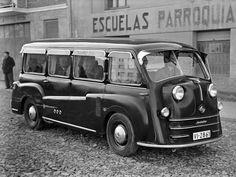 Tempo Matador (1949) | ⇆ 614| https://www.pinterest.com/hotrodnisse/buses/