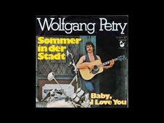 Wolfgang Petry - Sommer in der Stadt (1976) - YouTube Wolfgang Petry, Summer Songs, Summertime, Youtube, The Creator, Advertising, Love You, Te Amo, Je T'aime