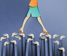 "Eiko Ojala for New York Times ""Helping Women Lean In"""