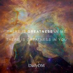 "► ""There is greatness in me.  There is greatness in you."" ★★★"