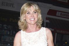 Anthea Turner checks in to the chiltern firehouse