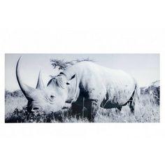 Obraz reprodukcja RIHNO 140x60na szkle - Liv-Art.pl Moose Art, Tapestry, Fun, Heaven, Animals, Design, Decor, Rhinos, Fin Fun