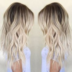 Balayage on Blonde Hair