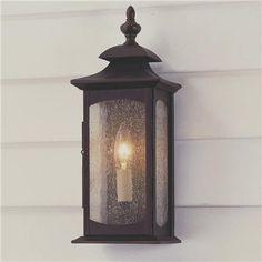 "SHADES OF LIGHT | Updated Coach Lantern Outdoor Light - 1 Light | 14""h x 6""w x 4.5""d | Product SKU: OL0411 | 139.00 retail"