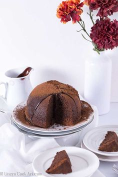How to prepare steamed chocolate pudding Steamed Chocolate Pudding, Chocolate Pudding Recipes, Chocolate Desserts, Chocolate Christmas Pudding, Easter Chocolate, Types Of Desserts, No Bake Desserts, Delicious Deserts, Brownie Cake