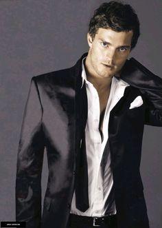 jamie dornan. Christian Grey.