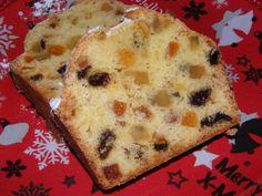 Gyümölcskenyér - Kockalány konyhája Loaf Cake, Feta, Dessert Recipes, Sweets, Bread, Fruit, Cooking, Christmas, Kitchen