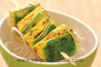 Saunfia Paneer Tikka: Saunf or fennel seed lends its aromatic sweetness and makes this a recipe with a difference.