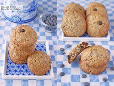 Receta de galletas crujientes de avellana y chips de chocolate. Con fotografías del paso a paso, consejos y sugerencias de degustación. Recetas d...