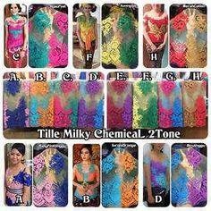 Ready  Pilihan warna lengkap Bahan Atasan kebaya modifikasi brukat tile chemical twotone, gak perlu beli 2 bahan lagi... 1 bahan udah kombinasi 2 warna... so beauty and elegant sista... very reccomended  Terima request langsung jahit kebaya atau dress juga ya.. Harga dan detail by pm  Line ke deesiswandari /whatsapp 087861200757  #kebaya #kebayabali #jualkebaya #kainkebaya #jualkainkebaya #jualbahankebaya #brukat #bordir #prada #chemical #kebayabalibordir #kebayabrukat #kebayaonline…