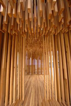 Sclera by Adjaye / Hess Timber