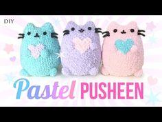 DIY Pusheen Cat Plush - Make Adorable Budget Plushies Using SOCKS!! - YouTube