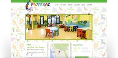 Designing and creating website with photogallery to the nursery / kindergarten Patatrac