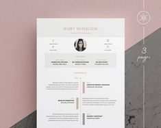 Resumes that help you make a great first impression! by KekeResumeBoutique Resume Layout, Resume Cv, Resume Design, Flyer Design, Resume Help, Cv Template Word, Resume Templates, Microsoft Word, Design Typography